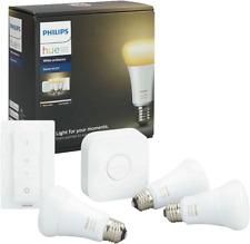 Artikelbild Hue White Ambiance LED E27 3er Starter Set 9,5W inkl. Dimmsc