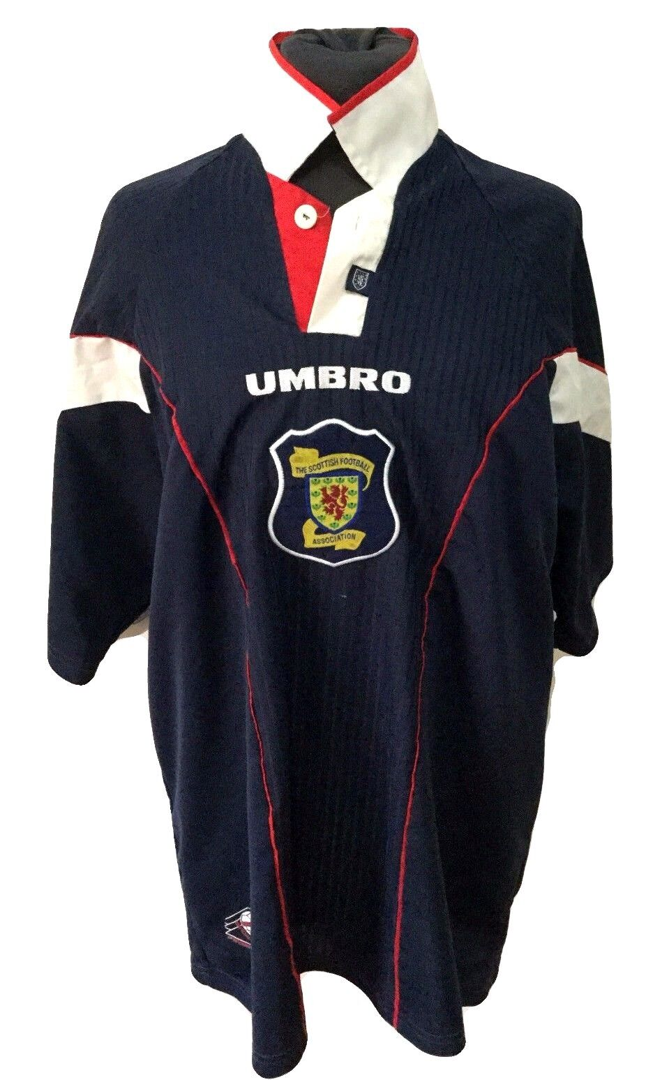 SCOTLAND TRIKOT 1996 -1998 HOME UMBRO FOOTBALL SHIRT VINTAGE Größe XL