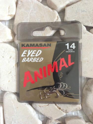 KAMASAN ANIMAL HOOKS VARIOUS TYPES /& SIZES ⭐FREE
