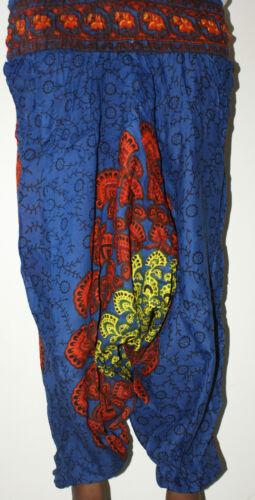 Harem Trousers Mandala Peacock Alibaba  Boho Gypsy Yoga Summer Dance wear Indian