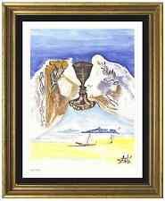 """Salvador Dali Signed/Hand-Numbered Ltd Ed """"Chalice Love """" Litho Print (unframed)"""