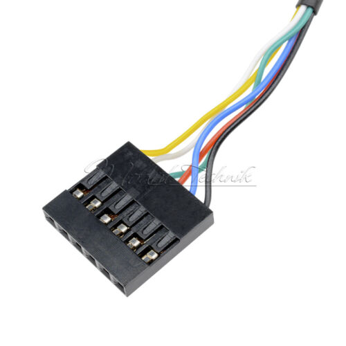 PL2303HXD PL2303 PL2303TA 6Pin USB to RS232 TTLCable Module For WIN XP WIN7//8.1