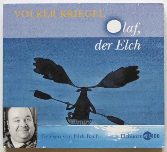 Olaf der Elch Hörbuch Audiobook Volker Kriegel -- Lesung Dirk Bach -- gebraucht