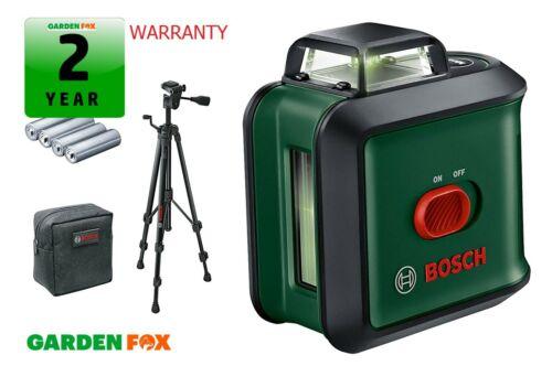 Nouveau Bosch Uni Level 360 TT150 Green Lazer niveau ligne 0603663E03 4059952527819.