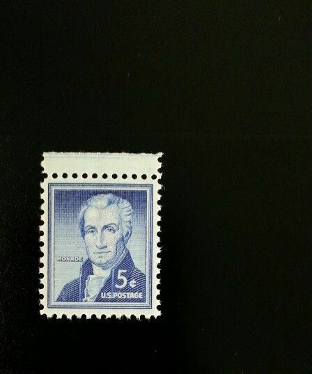 1954 5c James Monroe, 5th President of the United State