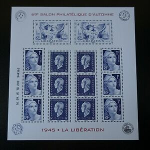 Bloc-Sheet-70-Years-of-the-Liberation-N-4986-4988-Neuf-Luxe-Mnh