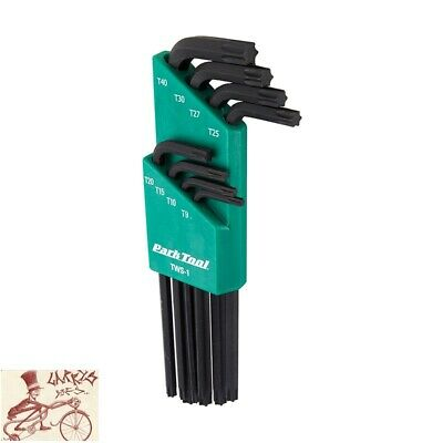 Pedro/'s L Torx 7-Piece Bicycle Wrench Set w// Holder T10 T15 T20 T25 T27 T30 T40