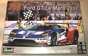 Revell-Ford-GT-Le-Mans-2017-1-24-scale-plastic-model-kit-new-4418