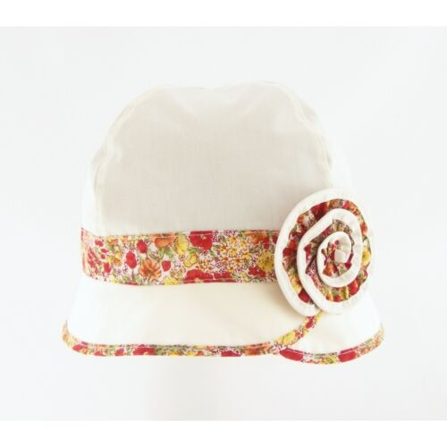 COLOURFUL COTTON BRAND NEW GIRL HAT FOR SUMMER MODERN 18M-4Y SOFT LOVELY