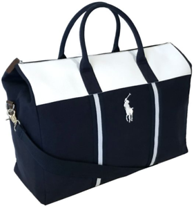 amazon pre order authentic quality Details zu BRAND NEW RALPH LAUREN WORLD OF POLO BLUE WEEKEND TRAVEL HOLDALL  GYM SPORTS BAG