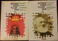2 riviste TELECOM-italia 2001 e 2003 NOTIZIARIO TECNICO