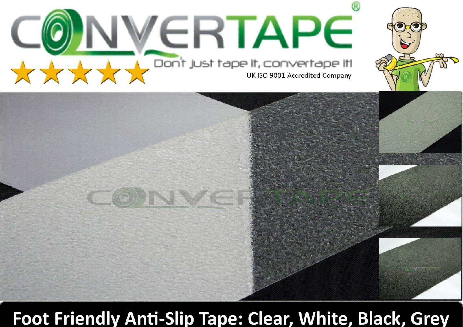 Foot Friendly Anti Slip Tape High Grip Wet Room Bath Shower Food Safety DIY Skin