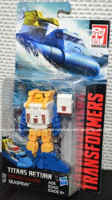 Hasbro Transformers Titans Return Legends Class Figure Seaspray
