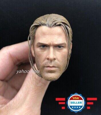 Elite 1//6 Thor tresse Head Sculpt Thor 3 THE AVENGERS pour hot toys Phicen