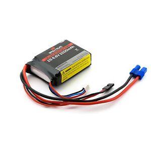 Spektrum-6-6V-2200mah-2200-2-cell-2S-LIFE-Li-FE-RX-Receiver-Battery-SPMB2200LFRX
