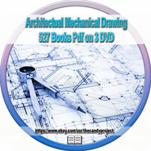 Details about 527 Architectural Mechanical Drawing Structural Drafting  Drawing Books Pdf 3 DVD