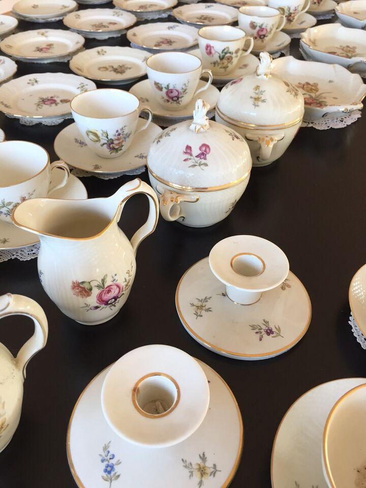 Porcelæn, Diverse til fuldt kaffestel, Royal Copenhagen