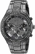 Guess Gunmetal Chronograph Ladies Watch U0628L5