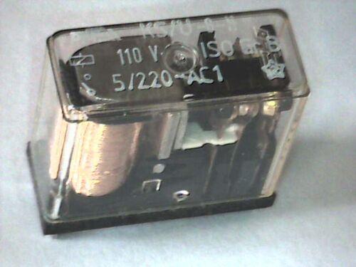 Relais PASI KS//U-6-H 110VDC 2 Wechsler 2 FormC 220VAC//5A