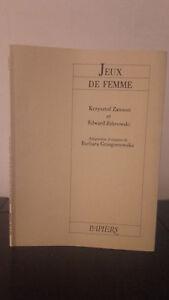 Krzysztof-Zanussi-Giochi-Di-Donna-1985-Carta