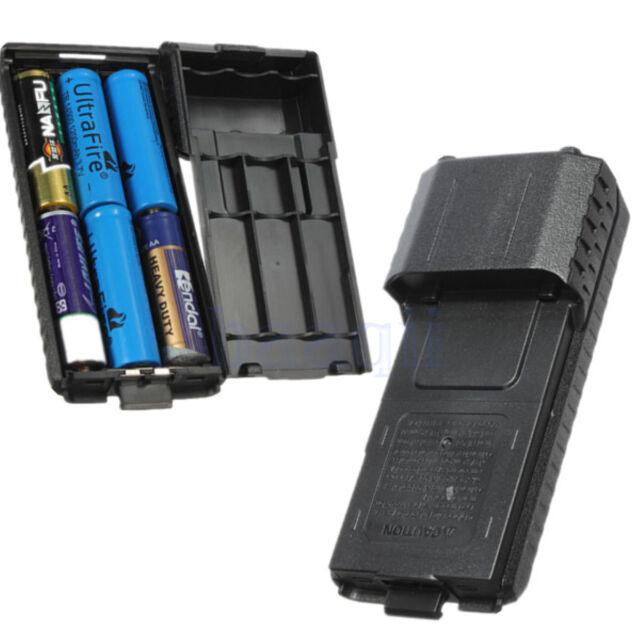 6AA Battery Extended Case Shell Box for BaoFeng Radio UV5RE UV5RE+ UV5R UV5RB MA
