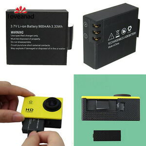 900mAh-Battery-Akku-fuer-SJCAM-SJ4000-SJ5000-SJ6000-Kamera-Camorder-Wiederauflad