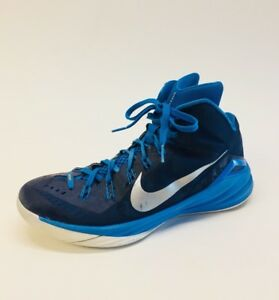 low cost ed584 1ca26 Image is loading Nike-Hyperdunk-TB-Midnight-Navy-Blue-Silver-653483-
