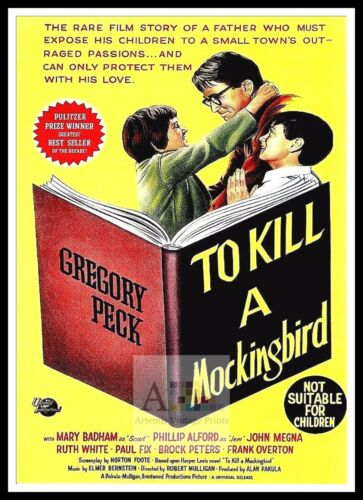 To Kill A Mockingbird 7  Poster Greatest Movies Classic & Vintage Films