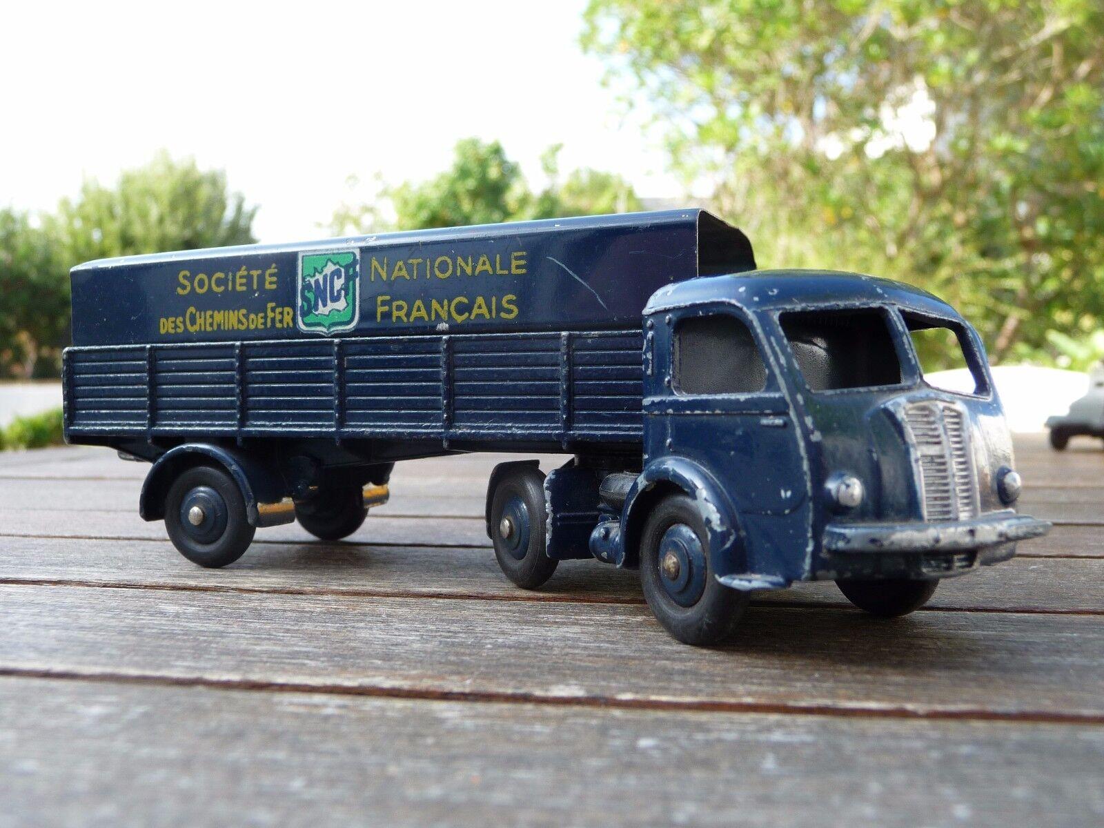 SUPERBE   DINKY TOYS PANHARD semi-remorque SNCF 32 AB