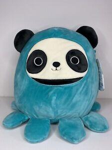 "Squishmallow 8"" Stanley Octopus Squid Panda Soft Plush NWT"