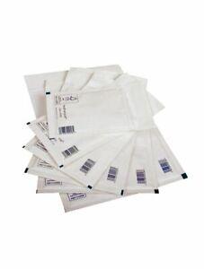 FEATHERPOST WHITE PADDED BUBBLE WRAP ENVELOPES POSTAL LITE MAIL BAGS D 200x275mm
