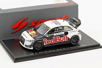 Audi s1 eks RX Quattro Ekström versión de prueba World RX 2018 1:43 Spark 7813 nuevo