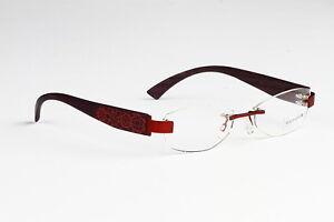 Rimless Glasses Look Good : WOOD LOOK RIMLESS EYEGLASSES GLASSES SUNGLASSES #60 eBay