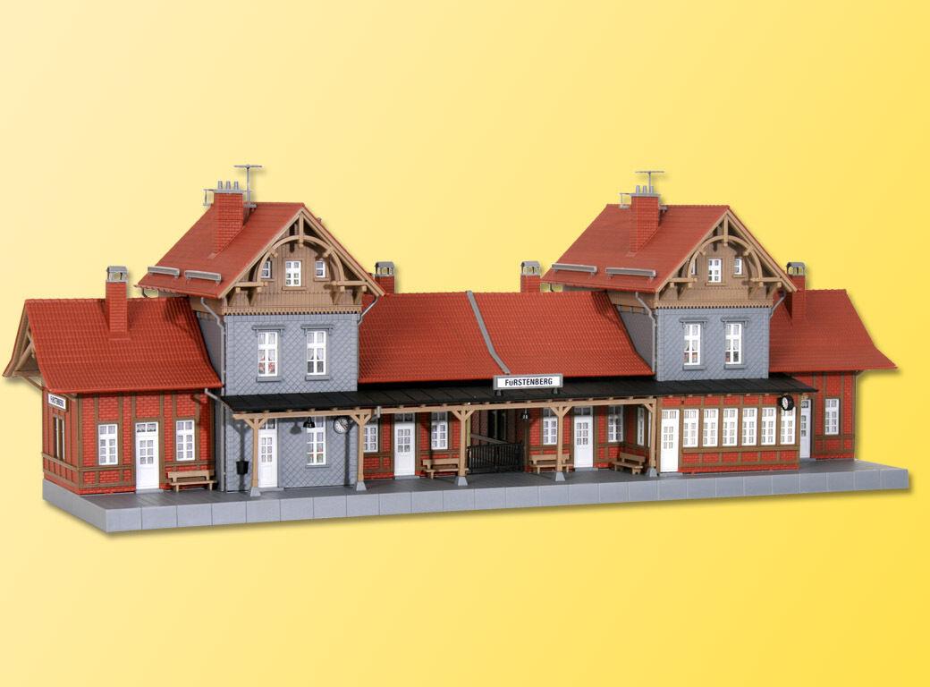 SH Kibri 39367 stazione ferroviaria Fürstenberg KIT NUOVO DI FABBRICA