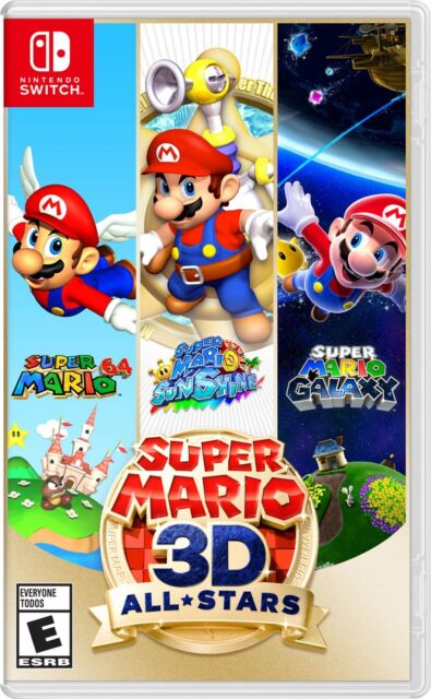 Super Mario All Stars 3D All-Stars Nintendo Switch Factory Sealed In-Hand NTSC