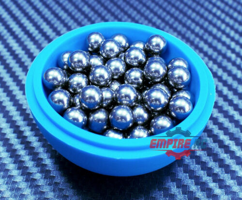 "201 Stainless Steel Loose Bearing Balls G100 Bearings 5.556mm 7//32/"" 50 PCS"