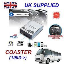 For Toyota Coaster MP3 SD USB CD AUX Input Audio Digital CD Changer Module 5+7p