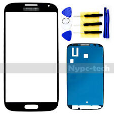 New Blue Front Glass Screen Replacement For Samsung Galaxy S4 SCH-i545 SGH-1337