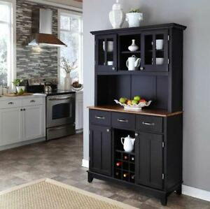 Delicieux Image Is Loading Kitchen Hutch Buffet Table Server Mini Bar Liquor
