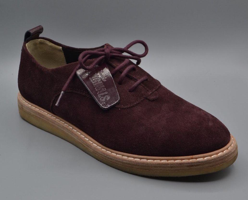 Nuevo Vino CLARKS ORIGINALS  emperatriz lo  Damas Vino Nuevo De Ante Con Cordones Zapatos Uk 7 D 0c592b