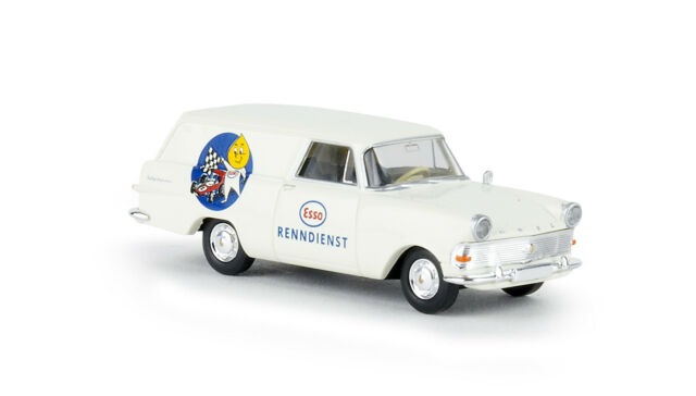 "Opel P2 Box "" Esso Racing Service "", Td, H0 Car Model 1:87, Brekina 20178"