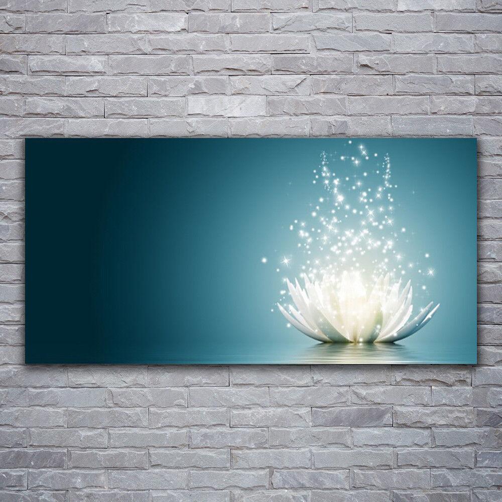 Photo sur toile Tableau Image Impression 120x60 Floral Fleur De Lotus