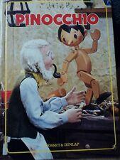 Pinocchio IZAWA Hijikata Japan Gosset Dunlap Book 1970 PUPPET 1ST EDITION 3D