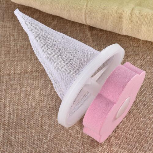Floating Pet Fur Catcher Laundry Lint /& Pet Hair Remover Simple Blue Pink