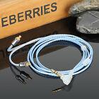 Earmax Handmade OFC earphone cable for ATH LS50 70E40 5070 LS200 LS300 SR9 etc.