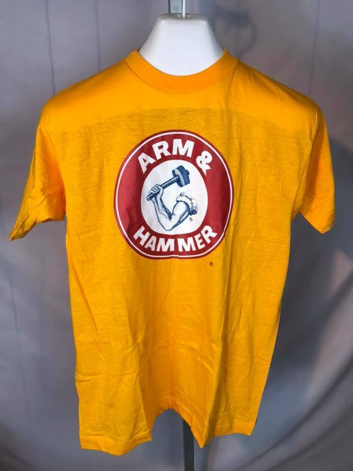 Vintage Champion NOS Arm and Hammer 100% cotton Streetwear XL (V)