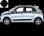 Renault-Twingo-Bandes-Zebres-Stickers-adhesifs-decoration-couleur-au-choix miniature 1