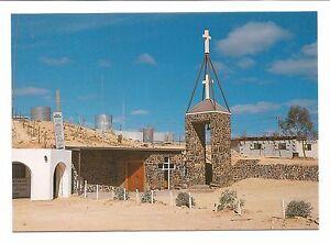 SA-c1970s-POSTCARD-UNDERGROUND-CATHOLIC-CHURCH-COOBER-PEDY-SOUTH-AUSTRALIA