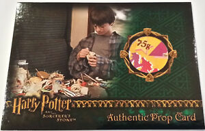 Harry-Potter-and-the-Sorcerer-039-s-Stone-Wizard-Candy-Prop-Card-Exploding-Bon-Bons
