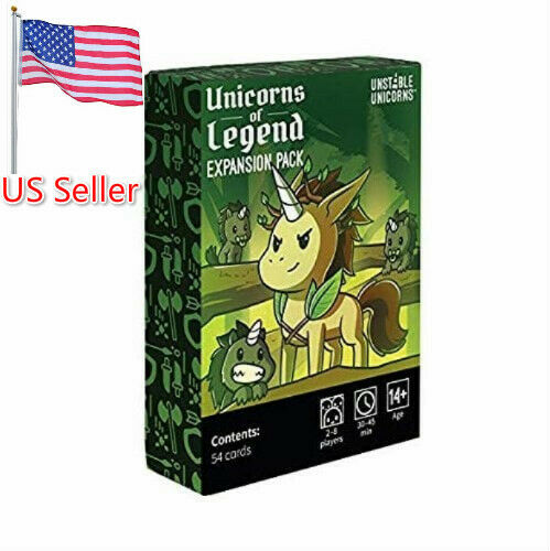 Unstable Unicorns UNICORNS OF LEGEND Expansion Pack Original Fast Shipping